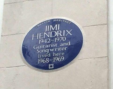 Jimi Hendrix Plaque