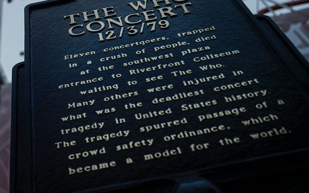 The Who Cincinatti Concert Deaths. Dec 3rd 1979