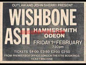 Wishbone Ash Hammersmith Odeon