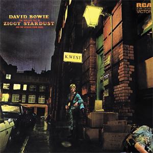 Ziggy Stardust Album Cover Location